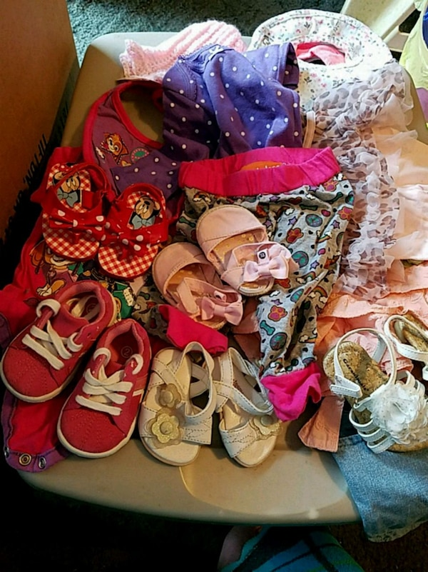 Baby girls clothes...will trade for boys stuff