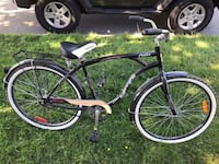 black and white cruiser bike Coquitlam, V3J 3X6