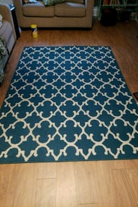 blue and white area rug West Springfield, 22152