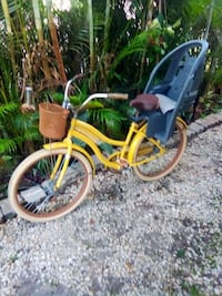 Bike, beach cruiser with child seat Naples, 34103