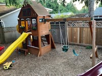 Kids outdoor playground from Costco