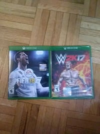 two Xbox One games Toronto, M6A