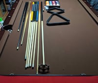 FANCY SLATE POOL TABLE- NEED GONE ASAP