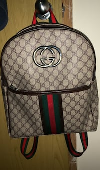 Gucci backpack tan