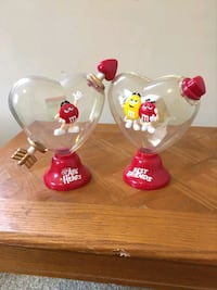 M&Ms plastic collectables