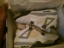 Cement Jordans size 12 low good condition
