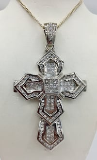 14K 7.55Ct TDW Diamond Cross Pendant Regular price$21,000.00 $10,500.00 Sale Edmonton, T6C