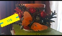 BUTTERFLY CERAMIC POT 15$ Ottawa, K1G 3P6