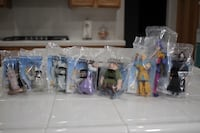 DISNEY'S THE HUNCHBACK OF NOTRE DAME BURGER KING KIDS CLUB COMPLETE SET Moreno Valley, 92557