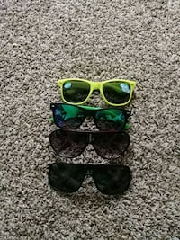green and black framed sunglasses Colorado Springs, 80909