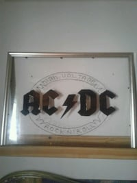 AC DC stained glass art 5$ Gatineau, J8Z 1T7