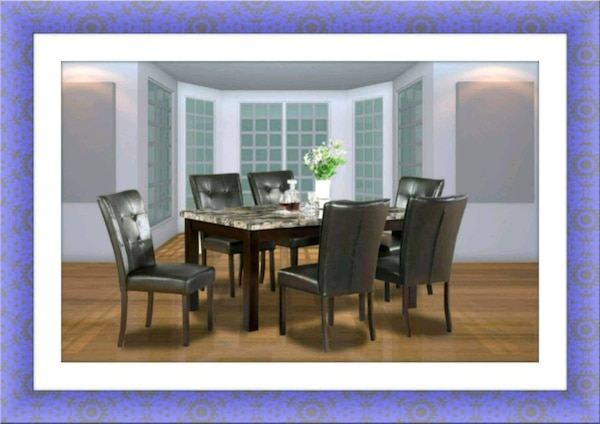 5pc dining table with 4 chairs free delivery