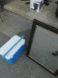 white and blue plastic ice cooler Ladson, 29456