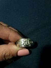Mens silver ring Louisville