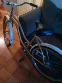 blue and black cruiser bike 44 km