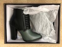 beau + ashe Two-tone Black and Green Booties Rockville, 20852
