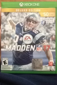 Madden NFL 17 Xbox One game case Saylorsburg, 18353