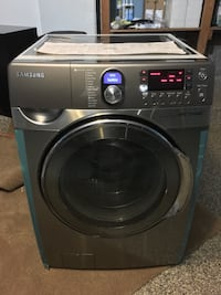 gray Samsung front-load clothes washer Chicago, 60626