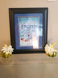 Signed & Certified/Authenticated Frozen movie poster