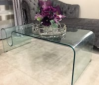 New Bent Glass Coffee Table Toronto