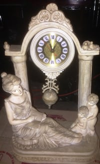 Very nice Roman numeral Ceramic Clock for sale Brampton