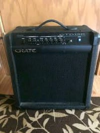 Amplifiers-Effects Crate GTD15R Guitar Microphone Amp.
