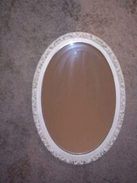 Oval Antiqued Frame Mirror Chicago, 60615
