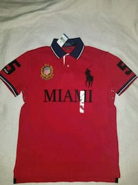 red and black Polo Ralph Lauren polo shirt Downey, 90241