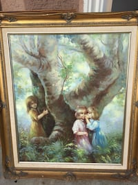 Beautiful gold framed oil painting by Veryl Grace  Chula Vista, 91910