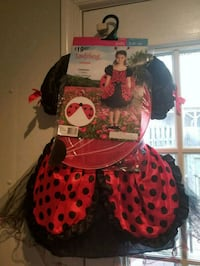 red and black Minnie Mouse wreath Fairfax, 22033
