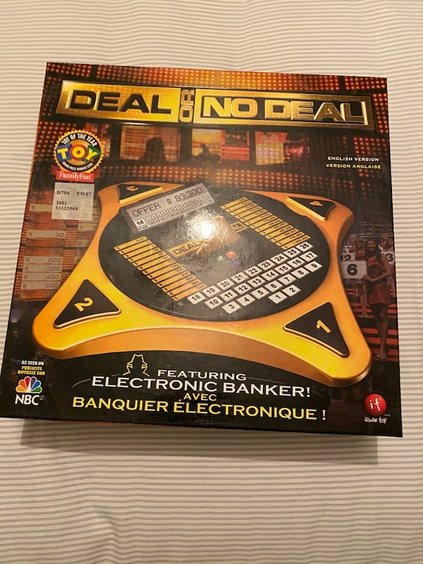 Deal or no Deal Board Game 7ac3ab96-feff-4977-8f52-9720d6b2ec66