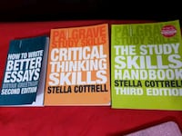 3 books Stella Cottrell and Bryan greetham  Greater London, SW17 9HP