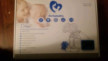 Rechargeable electric breastpump