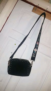 black and brown leather crossbody bag Greater London, E17 6PH