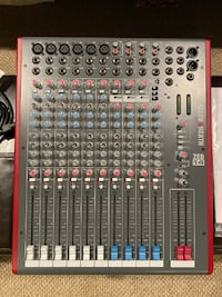 Allen & Heath Zed 14 USB 12 Channel Audio Mixer - Original Box SEATTLE