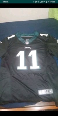 Carson Wentz Eagles blackout jersey **too small for me to wear**  Fairfax, 22030