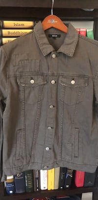 Jackson Dark Gray Button Jacket  NEVER WORN. Tags Still On.  Pikesville, 21208