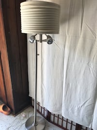 white and black floor lamp Beaumont, 77703