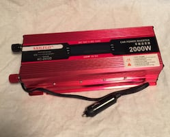 Car power inverter 2000 Watts... $150