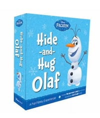 Hide and Hug Olaf Disney Frozen Plush Toy And Book Set Interactive Bowie, 20720