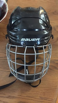 Black Bauer hockey Helmet! Used Once! In great shape Vancouver