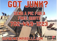 Junk removal North Las Vegas, 89081