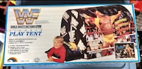 WWF Vintage Wrestling Slumber Play Tent Mint in Sealed Box Whitby