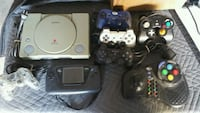 Sega Game Gear Playstation and controllers Henderson