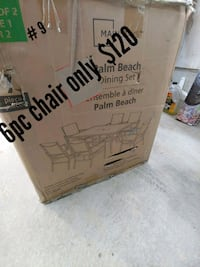 mainstays palm beach 6pc chair only Whitchurch-Stouffville, L4A 0A4