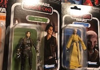 Star Wars vintage figures thee brand new Jyn Erso, Rey and snoke yours for 40.00 for all three Medford, 02155