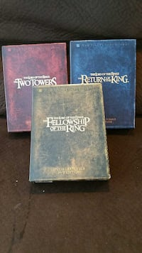 Lord of The Rings Extended Dvd Sets