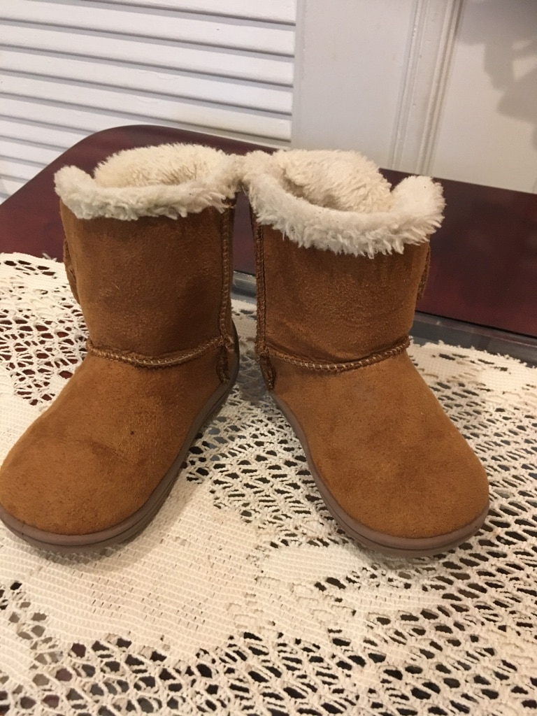 Baby Girl Boots Size 5