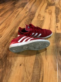 red-and-white Adidas low top sneakers Portland, 97209
