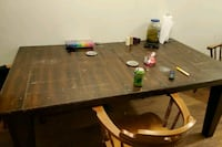 Kitchen table with leaf to make it bigger obo